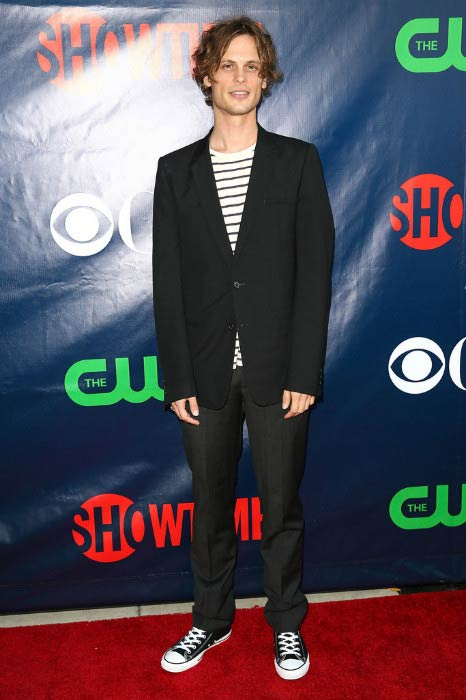 Matthew Gray Gubler at the TCA Summer Press Tour Party in July 2014