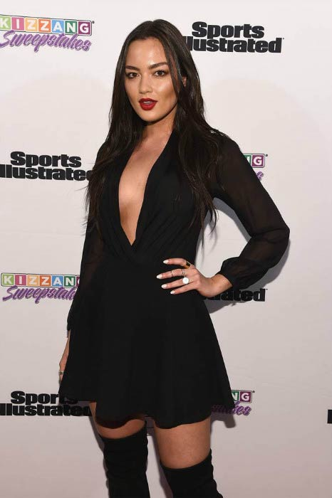 Mia Kang at the Sports Illustrated & KIZZANG Bracket Challenge Party in March 2016