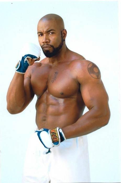 Michael Jai White shirtless body