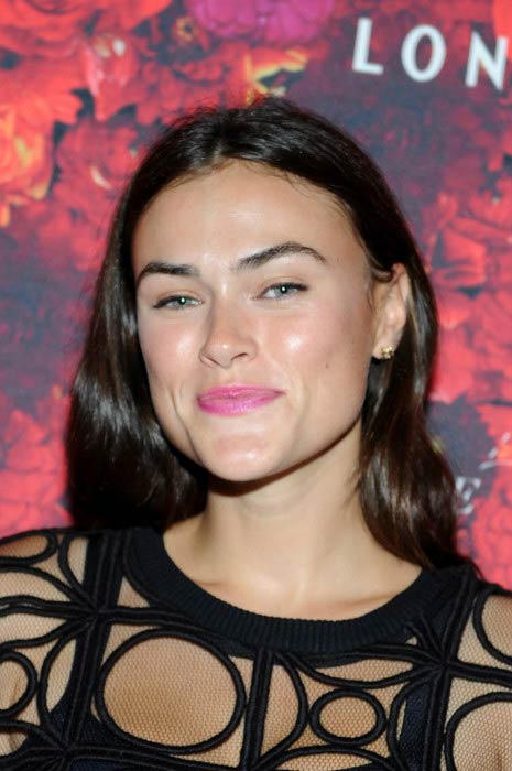Myla Dalbesio at the NYMag and The Cut Fashion Week Party in September 2015