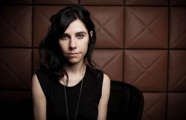 PJ Harvey in a photoshoot in August 2016