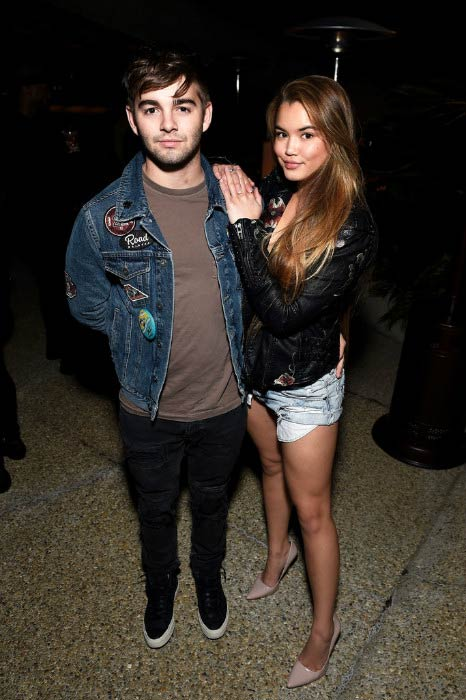 Paris Berelc and Jack Griffo at the E!'s The Arrangement Event in February 2017
