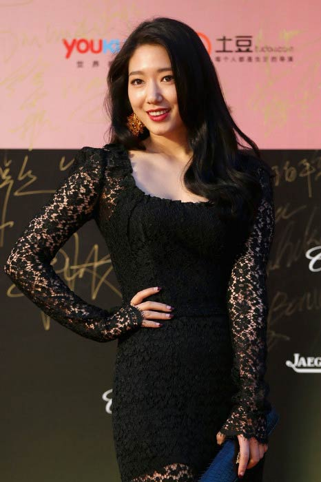 Park Shin-hye at the 17th Shanghai International Film Festival in June 2014