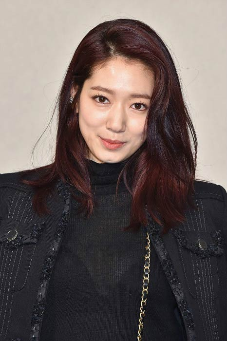 Park Shin-hye at the Chanel Haute Couture Spring Summer 2017 Show in Paris