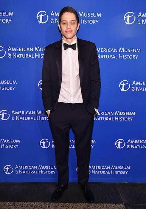 Pete Davidson at a Gala for American Museum of Natural History in November 2016