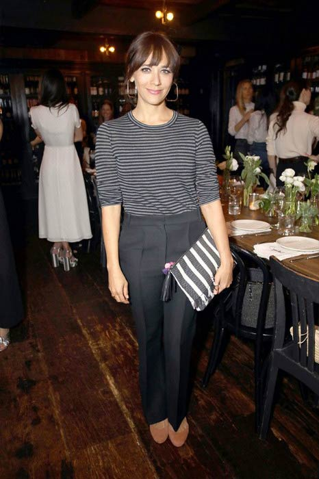 Rashida Jones at the Jenni Kayne + Loeffler Randall celebrate Pop-Up event in March 2017