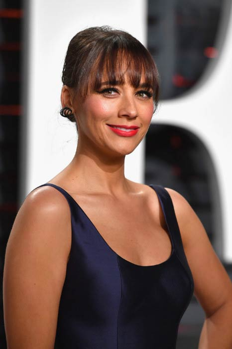 Rashida Jones at the Vanity Fair Oscar Party hosted by Graydon Carter in February 2017