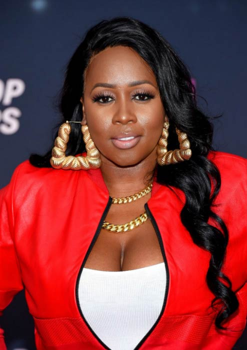 Remy Ma at the VH1 Hip Hop Honors: All Hail the Queens event in July 2016