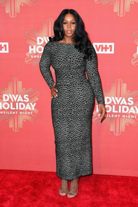 Remy Ma at the VH1's Divas Holiday: Unsilent Night in December 2016