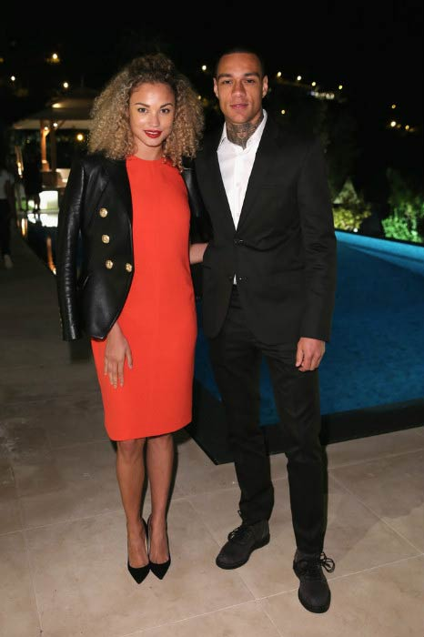 Rose Bertram and Gregory van der Wiel at the Cannes Film Festival in May 2015