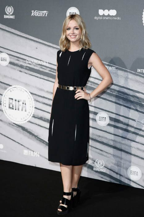 Ruth Kearney at The British Independent Film Awards in December 2016