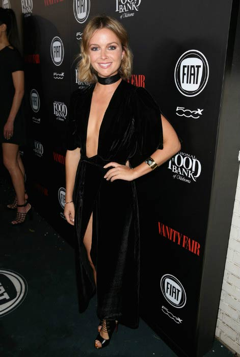Ruth Kearney at the Vanity Fair and FIAT Young Hollywood Celebration in February 2016