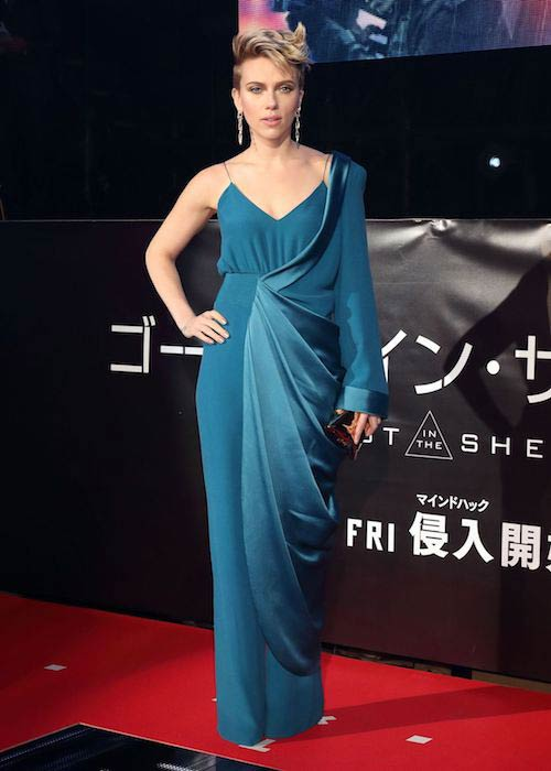 Scarlett Johansson at Ghost In The Shell premiere in Tokyo on March 16, 2017