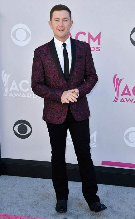 Scotty McCreery at the 52nd Academy Of Country Music Awards in April 2017