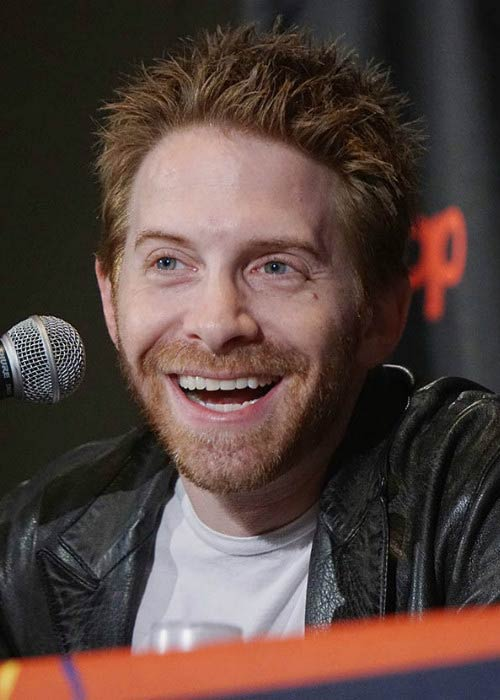 Seth Green at the Vimeo Presents Stoopid Buddies Film School Live panel in October 2014