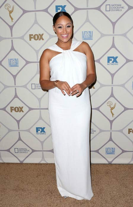 Tamera Mowry at the Primetime Emmy Awards Fox After Party in September 2015