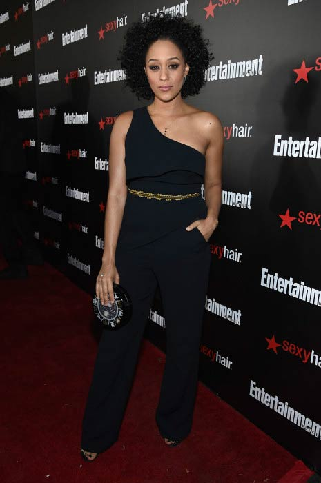 Tia Mowry at the Entertainment Weekly's celebration honoring the 2015 SAG Awards Nominees