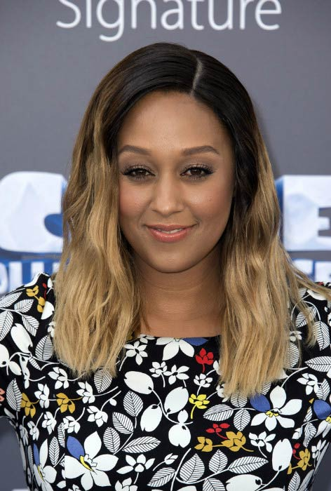 Tia Mowry at the Ice Age: Collision Course Friends and Family Screening in July 2016