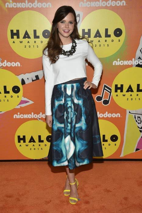 Tiffany Alvord at the Nickelodeon HALO Awards in November 2015