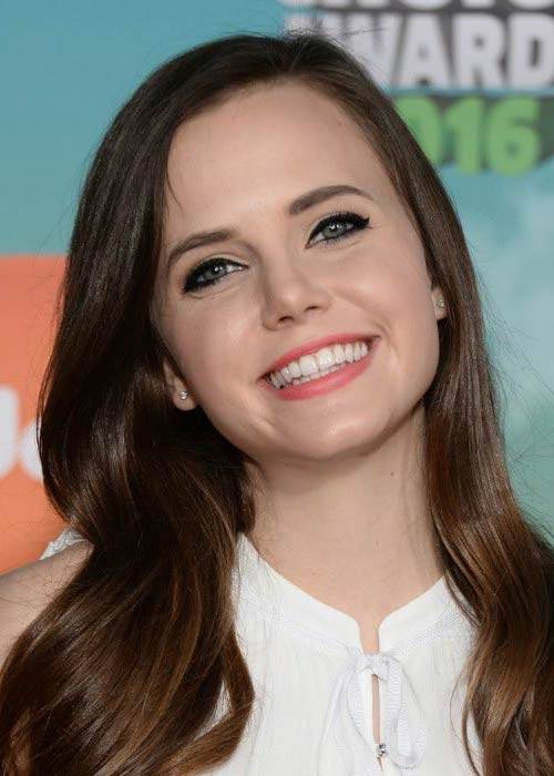 Tiffany Alvord at the Nickelodeon's Kids' Choice Awards in March 2016