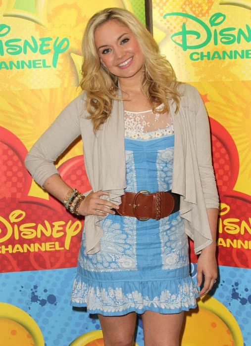 Tiffany Thornton at the Disney ABC Television Group Host May Press Junket in May 2011