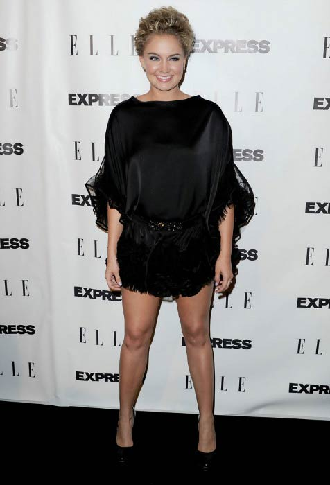 """Tiffany Thornton at the ELLE And Express """"25 At 25"""" Event in October 2010"""