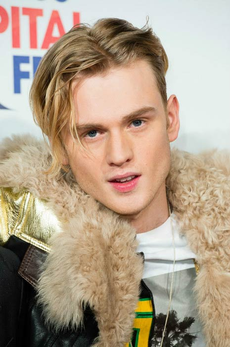 Tristan Evans at the Capital's Jingle Bell Ball in December 2014