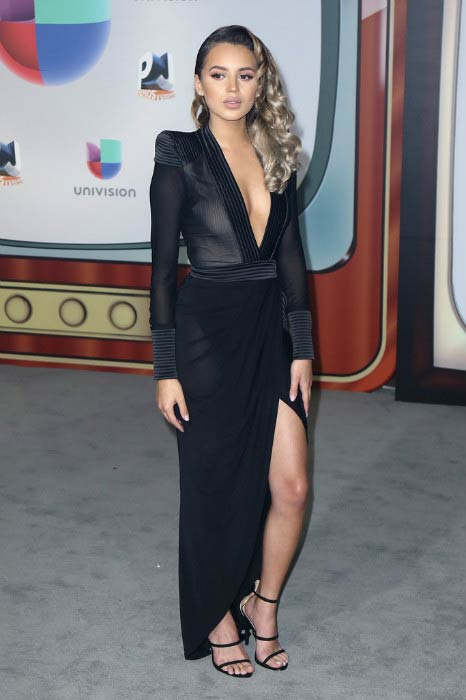 Val Mercado at the Univision's 13th Edition Of Premios Juventud Youth Awards in July 2016