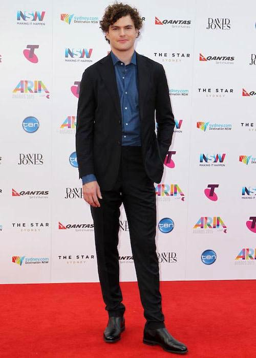 Vance Joy at the 2015 ARIA AwardsVance Joy at the 2015 ARIA Awards
