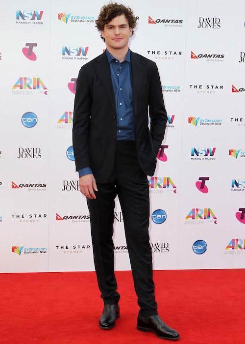 Vance Joy at the 2015 ARIA AwardsVance Joy at the 2015 ARIA Awards