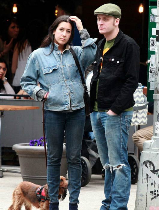 Vanessa Carlton and husband John McCauley out and about in 2014