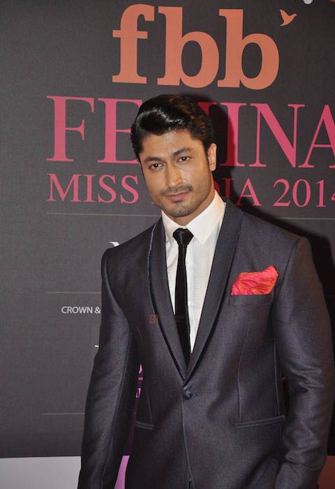 Vidyut Jammwal at the Femina Miss India in 2014