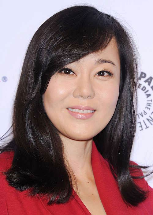 Yunjin Kim during the Paleyfest Lost 10th Anniversary Event in March 2014