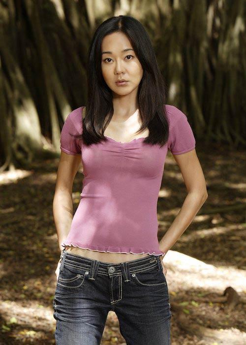 Yunjin Kim in a still from ABC series Lost