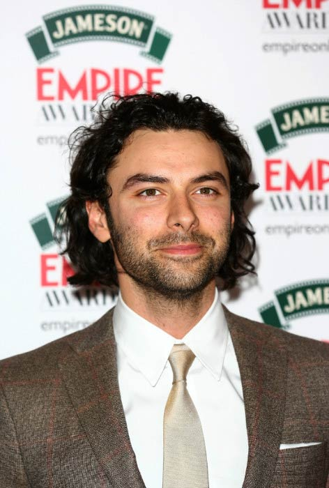 Aidan Turner at the Jameson Empire Awards in March 2014