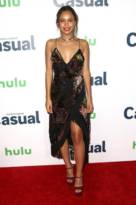 "Alisha Boe at the Hulu Original ""Casual"" premiere in September 2015"