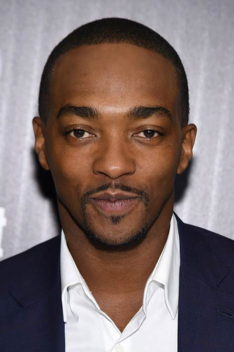 Anthony Mackie at The Cinema Society screening of Captain America: Civil War in May 2016