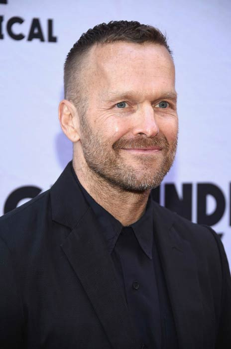 Bob Harper at the Groundhog Day Broadway Opening Night in April 2017