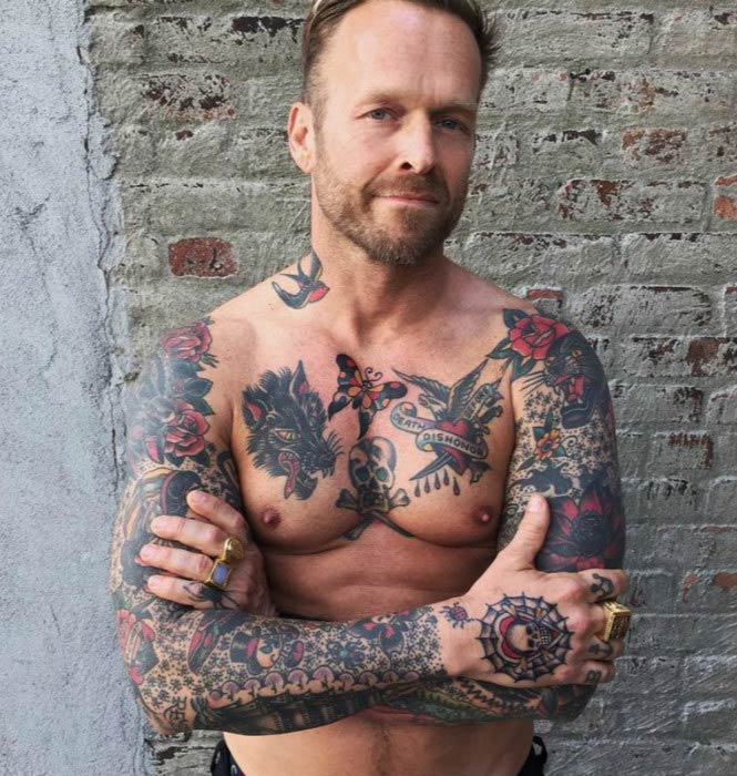 Bob Harper shirtless body 2016