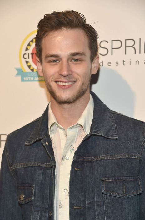Brandon Flynn at the City Year Los Angeles Spring Break in May 2017