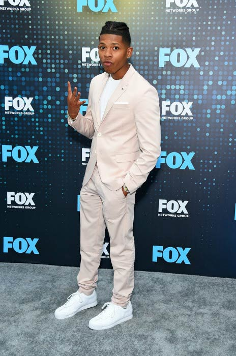 Bryshere Gray at the FOX Upfront event in May 2017
