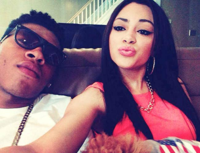 Bryshere Gray girlfriend Allonie Janet in a social media picture from 2015