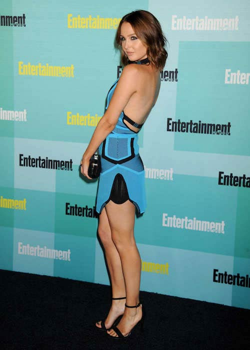 Camilla Luddington at Entertainment Weekly's 2015 Comic-Con party in California