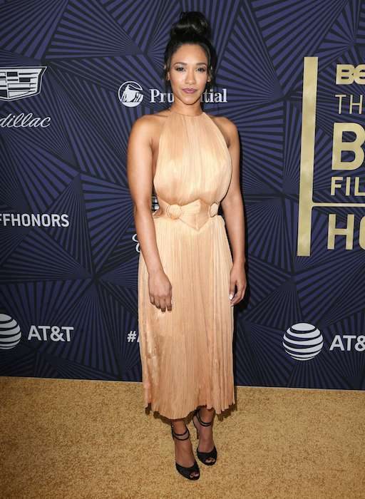 Candice Patton at BET's 2017 American Black Film Festival Honors Awards