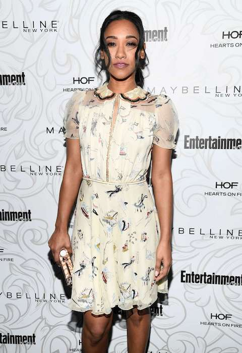Candice Patton during 2017 EW's Celebration of SAG Award Nominees