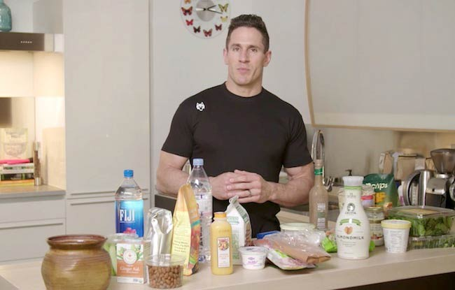 Celebrity Trainer Don Saladino cooking food