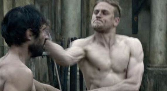 Charlie Hunnam Workout and Diet for King Arthur: Legend of the Sword (2017)