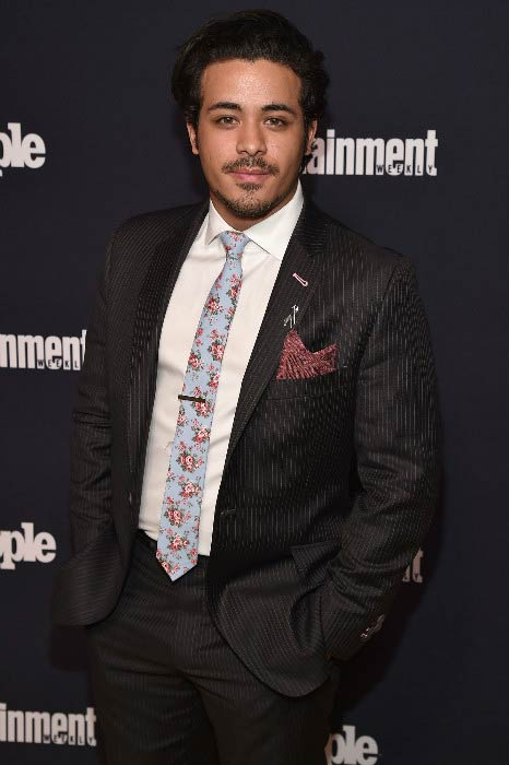 Christian Navarro at the Entertainment Weekly and PEOPLE Upfronts party in May 2017