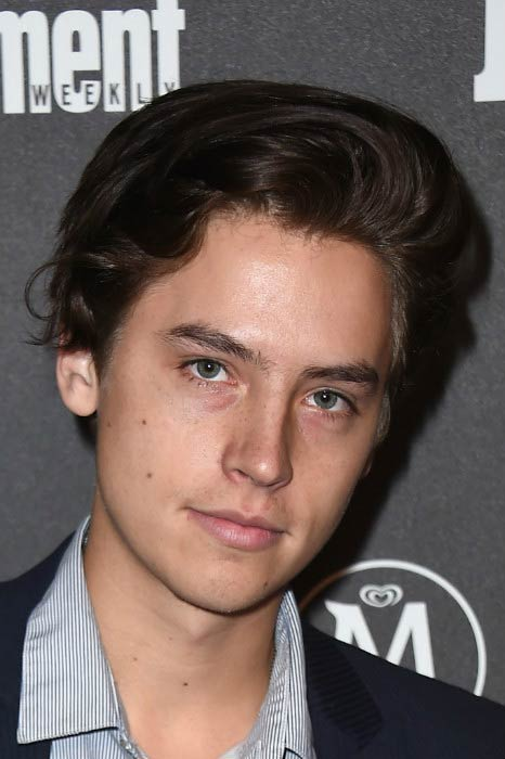 Cole Sprouse at the Entertainment Weekly & People New York Upfronts VIP Party in May 2016