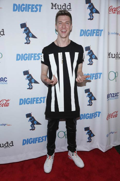 Collins Key at the DigiFest NYC in June 2015